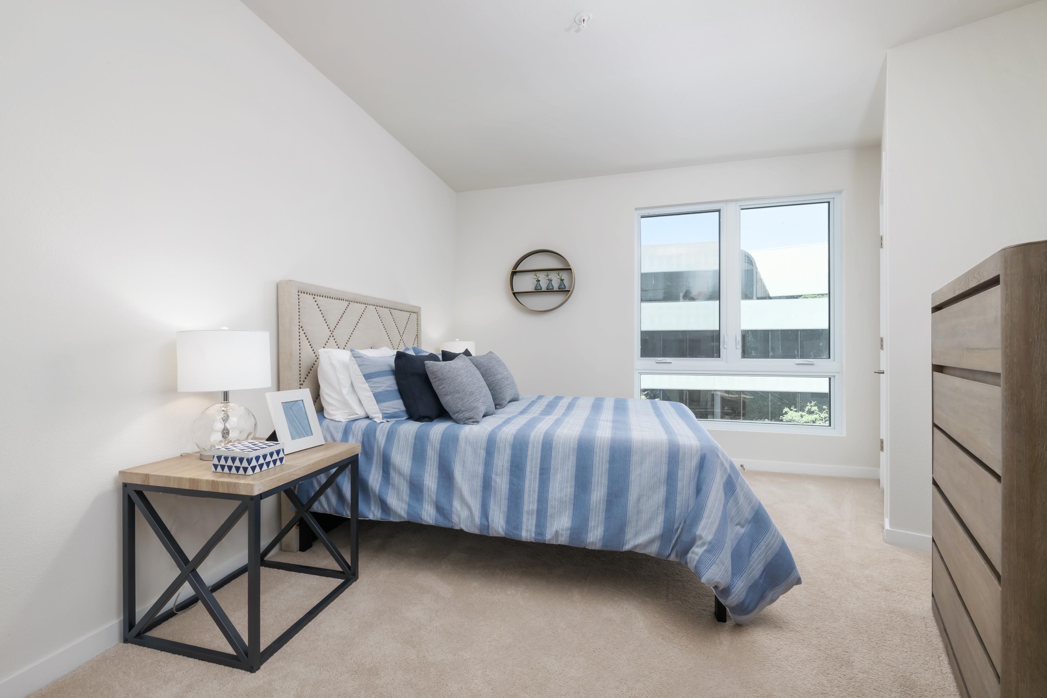 Bedroom featured in the 1b By The Address Company in Oakland-Alameda, CA