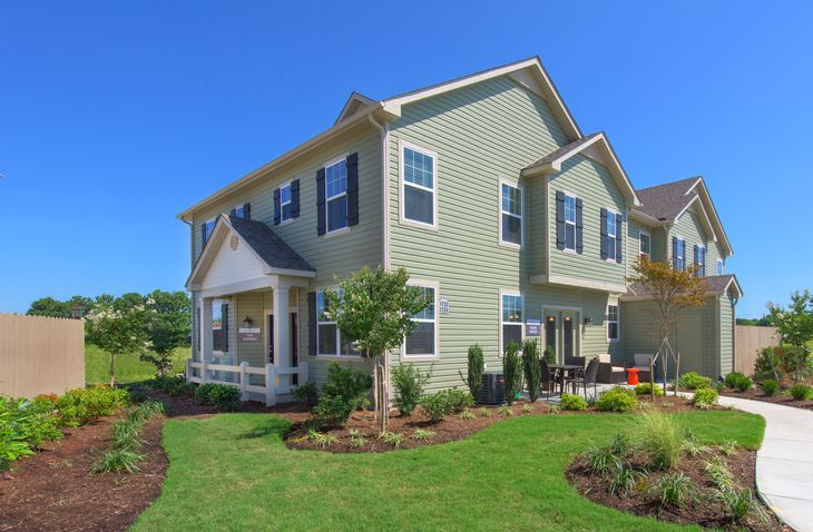 Exterior of Model Home:Fernhill at Spence Crossing