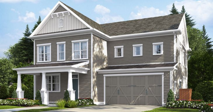 Digital Rendering of Model Home