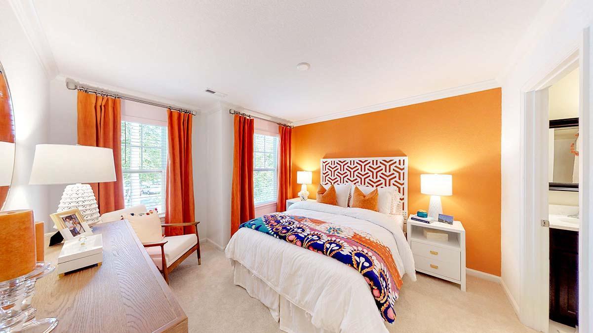 Bedroom featured in The Sumner By Dragas Companies in Norfolk-Newport News, VA