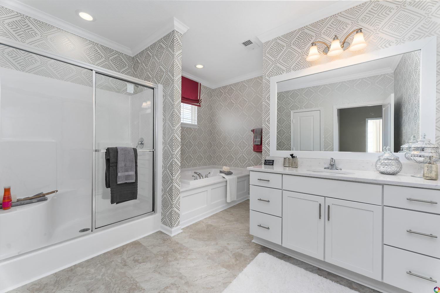 Bathroom featured in The Dogwood By Dragas Companies in Norfolk-Newport News, VA