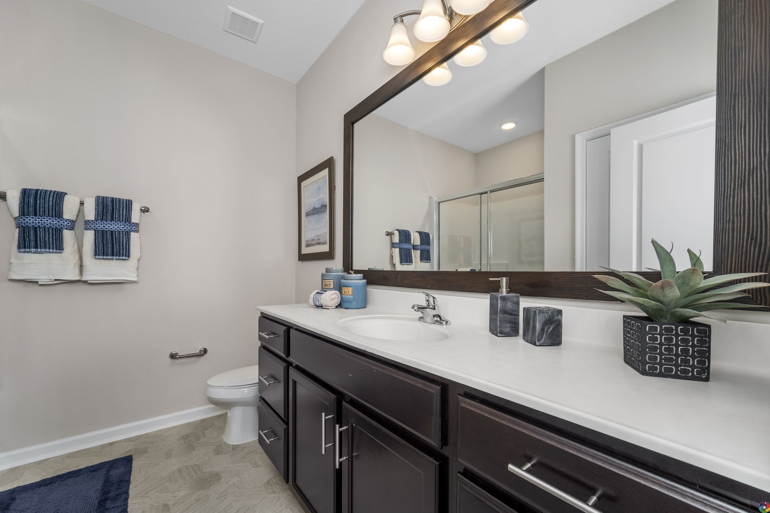 Bathroom featured in The Chestnut By Dragas Companies in Norfolk-Newport News, VA