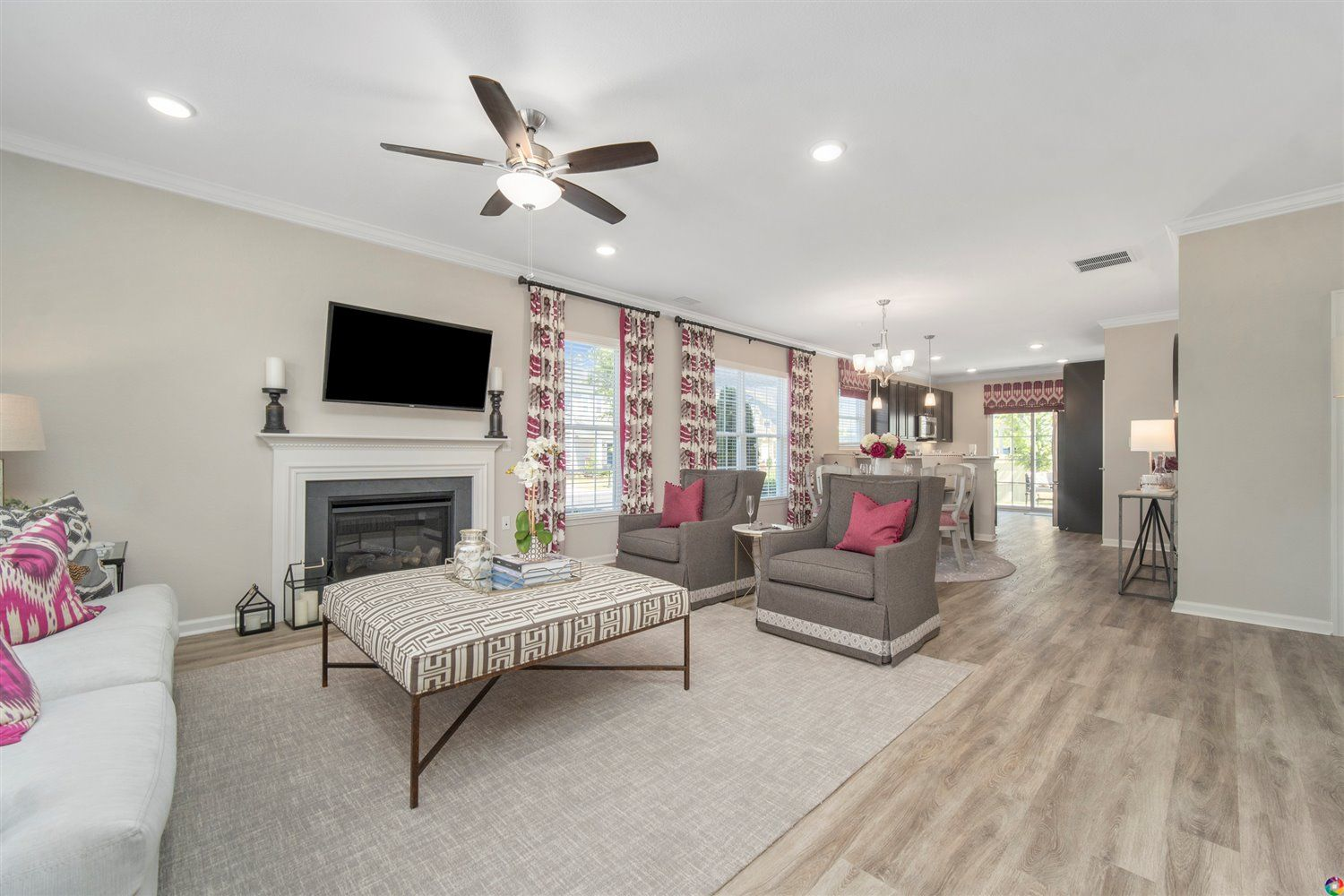 Living Area featured in The Sinclair By Dragas Companies in Norfolk-Newport News, VA
