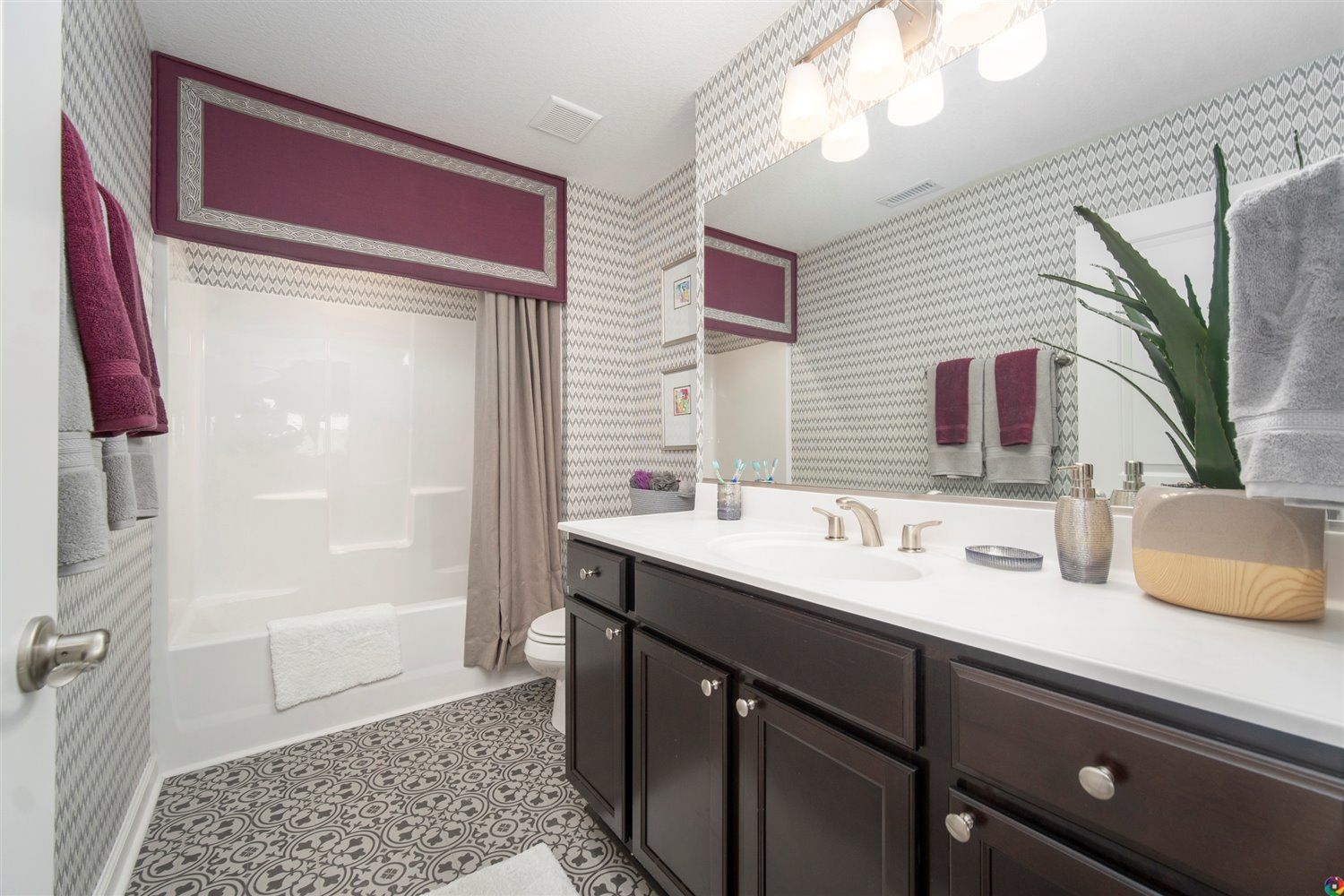 Bathroom featured in The Sinclair By Dragas Companies in Norfolk-Newport News, VA