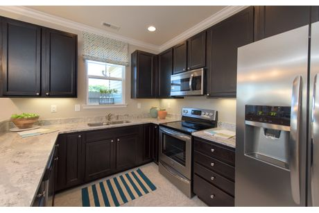 Kitchen-in-The Sumner-at-Fernhill at Spence Crossing-in-Virginia Beach