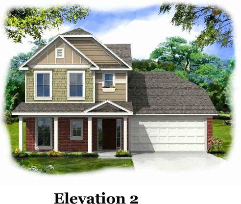 Elevation - Kensett at Kelsey Glen Kensett 2