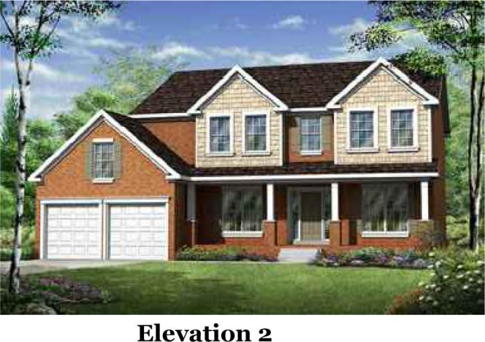 Elevation - Franklin at Kelsey Glen Franklin 2