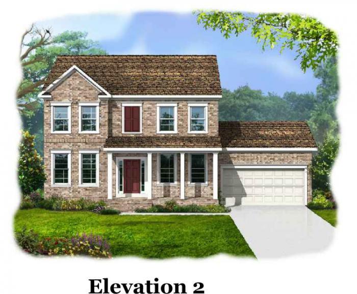 Elevation - Calhoun at Kelsey Glen Calhoun 2