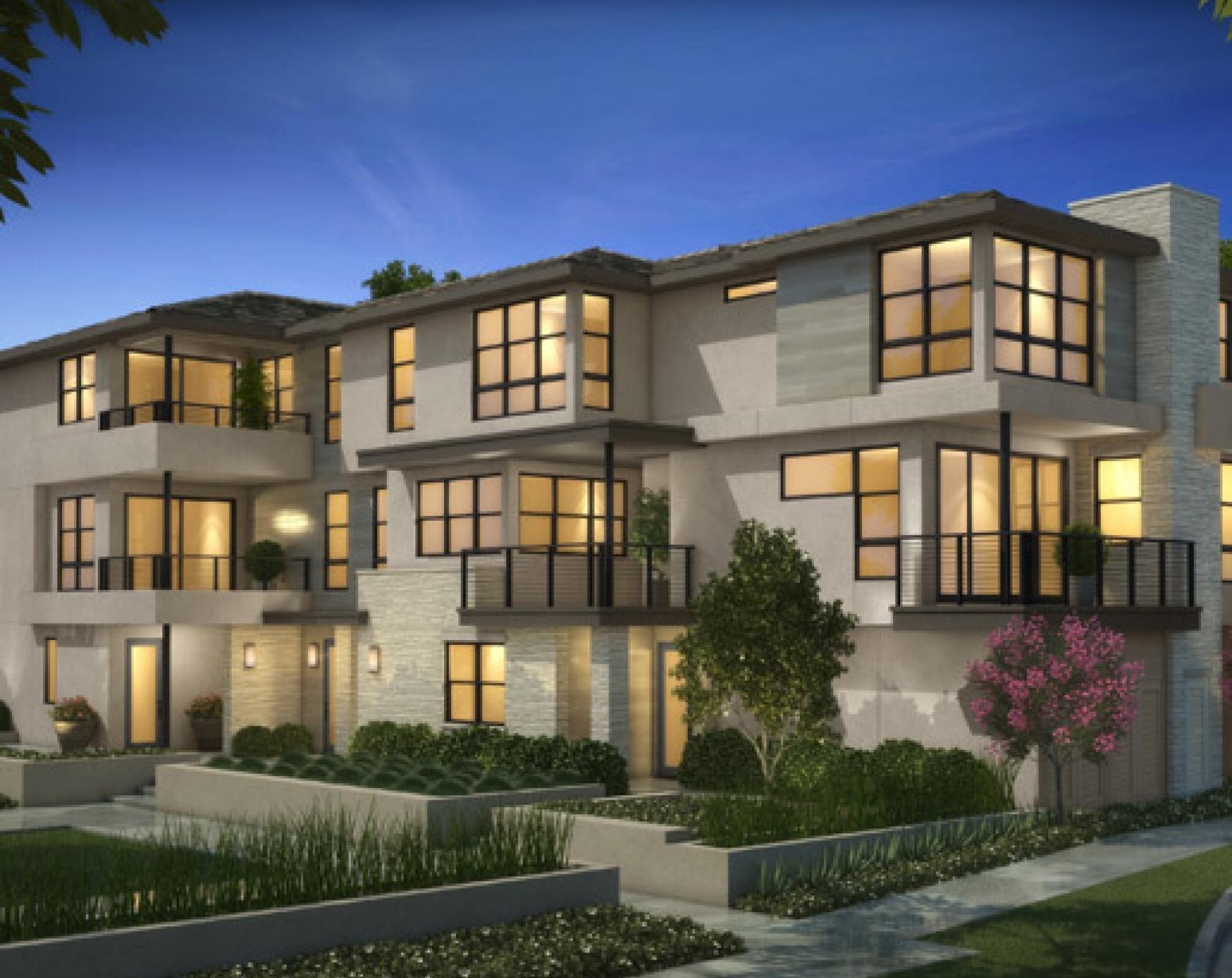 Exterior featured in the Plan 2A- The Heights By The New Home Company in San Diego, CA