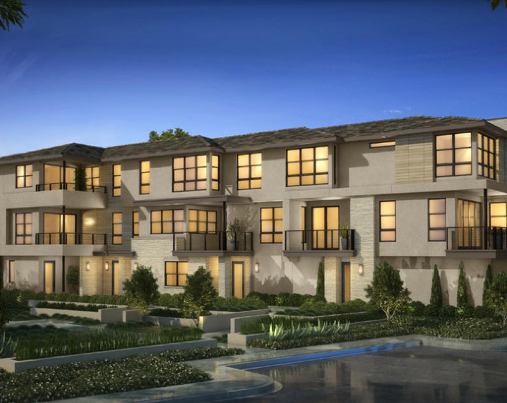 Exterior featured in the Plan 3A- The Heights By The New Home Company in San Diego, CA