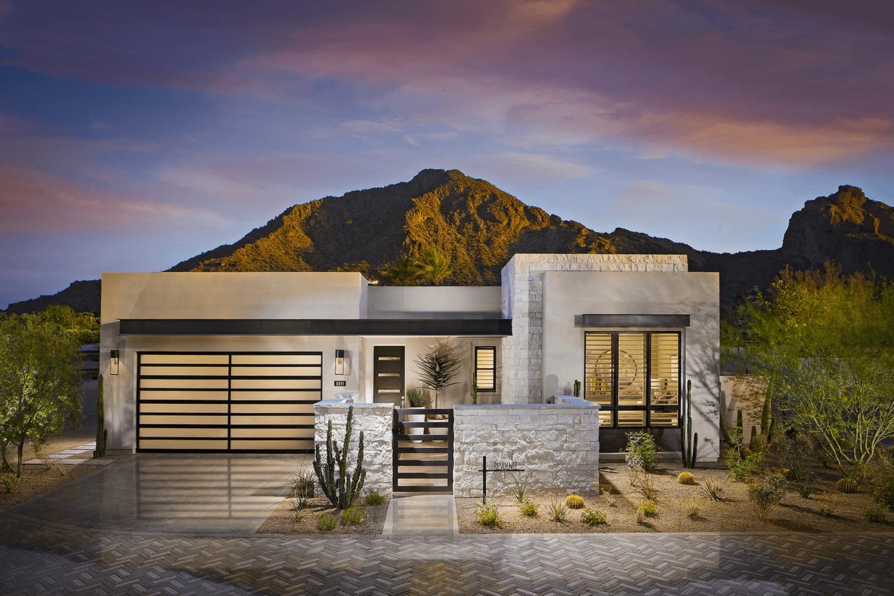 Residence Plan 4   Mountain Shadows: Paradise Valley, Arizona   The New Home  Company
