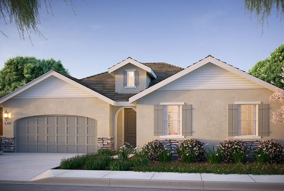 Exterior featured in the Oxford Plan 1 By The New Home Company in Vallejo-Napa, CA