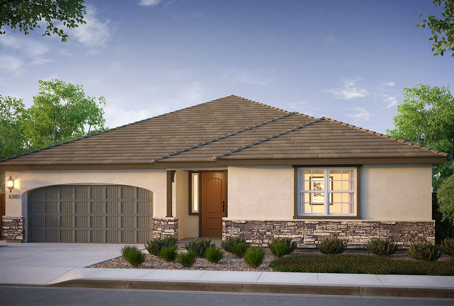 Exterior featured in the Oxford Plan 2 By The New Home Company in Vallejo-Napa, CA