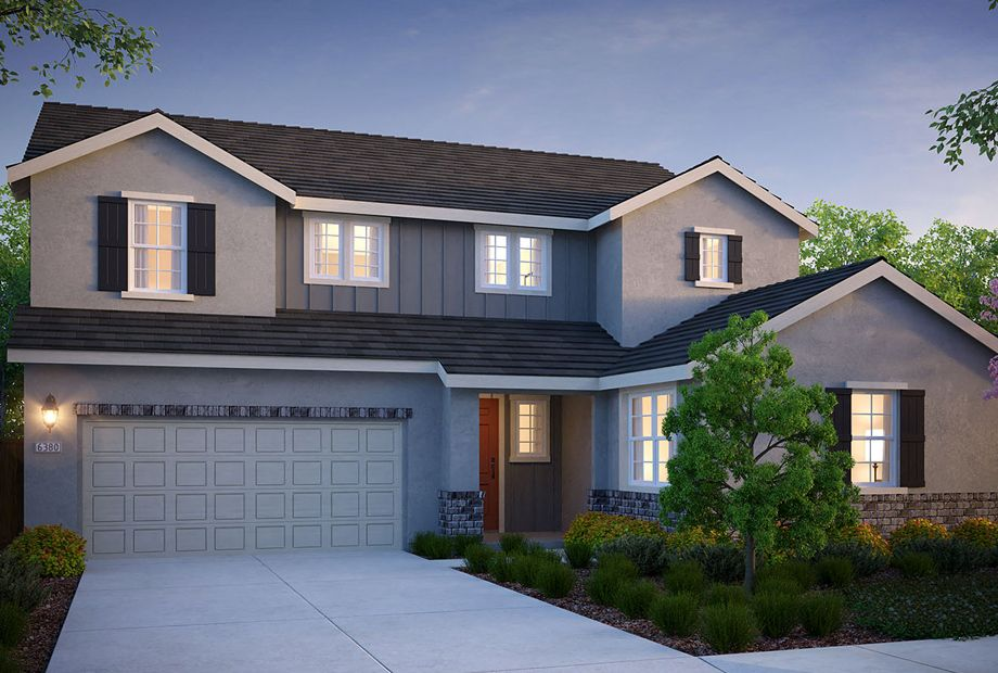 Exterior featured in the Oxford Plan 3 By The New Home Company in Vallejo-Napa, CA