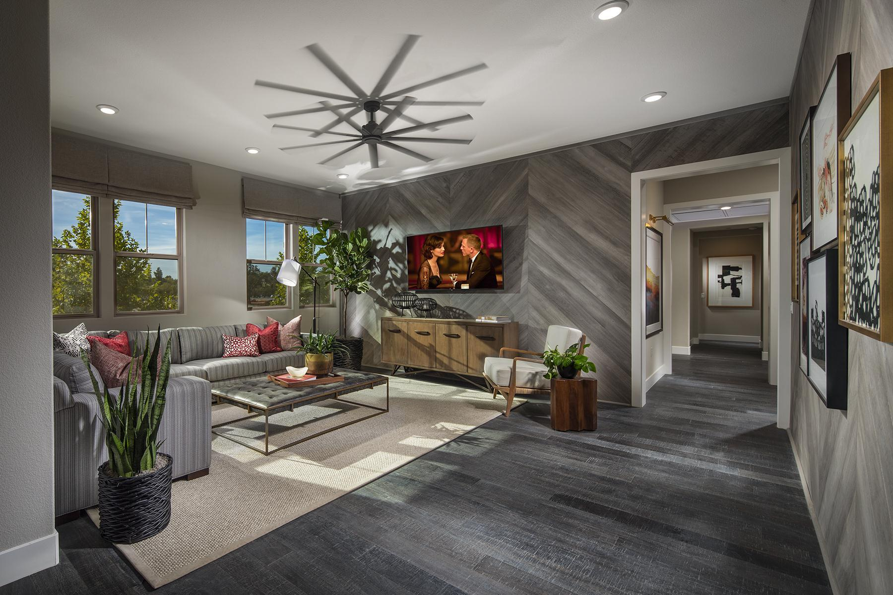 Living Area featured in the Plan 5 By The New Home Company in Sacramento, CA