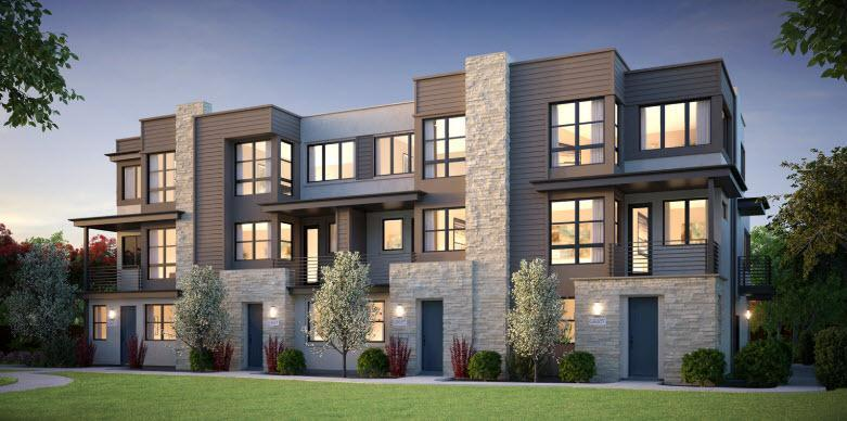 Exterior featured in the Plan 1A By The New Home Company in Riverside-San Bernardino, CA