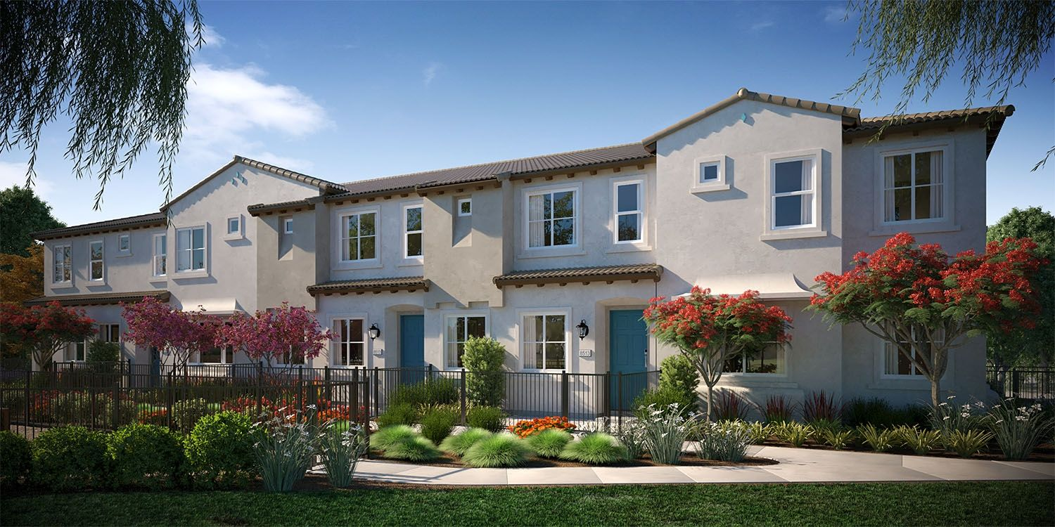 Exterior featured in the Plan 2A By The New Home Company in Sacramento, CA