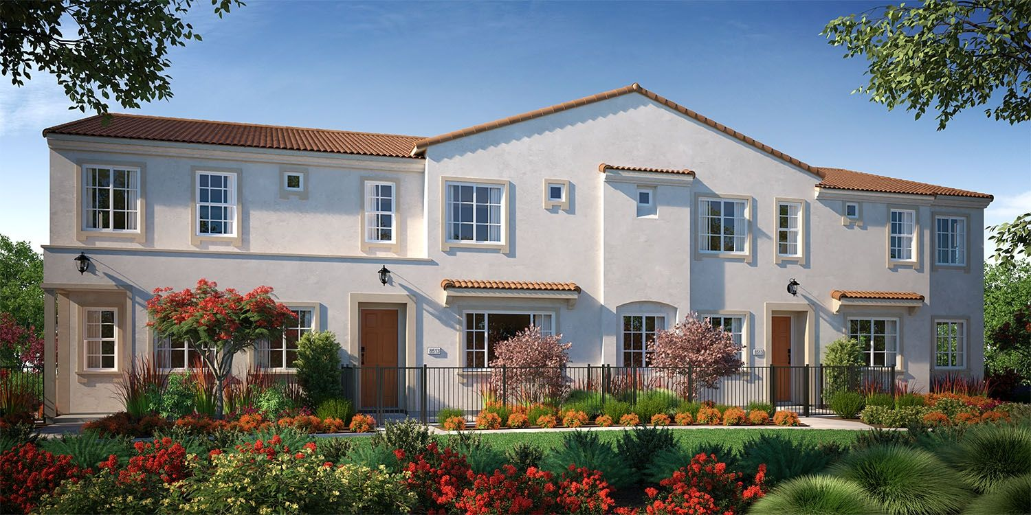 Exterior featured in the Plan 2XAM By The New Home Company in Sacramento, CA