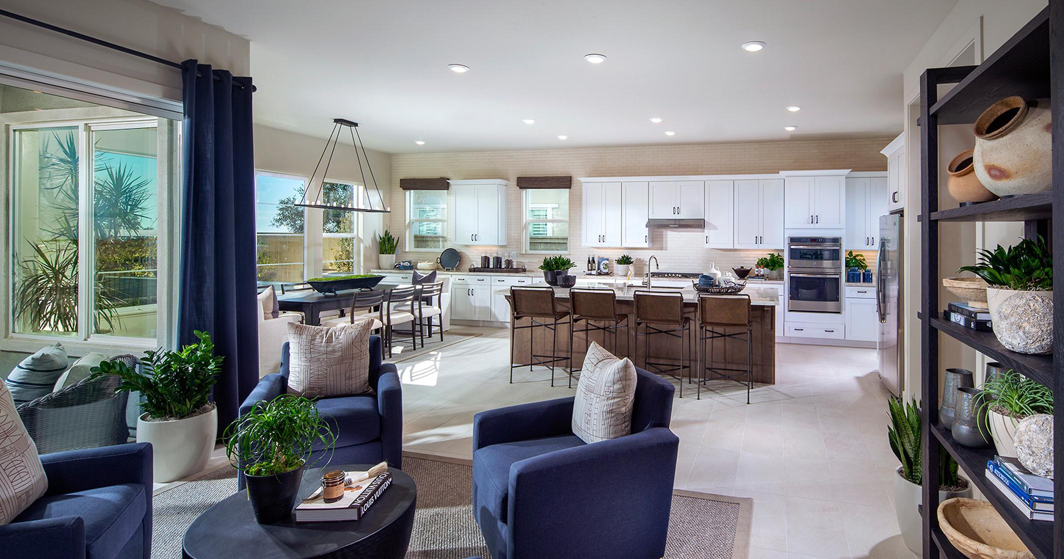 Living Area featured in the Plan 4 By The New Home Company in Sacramento, CA