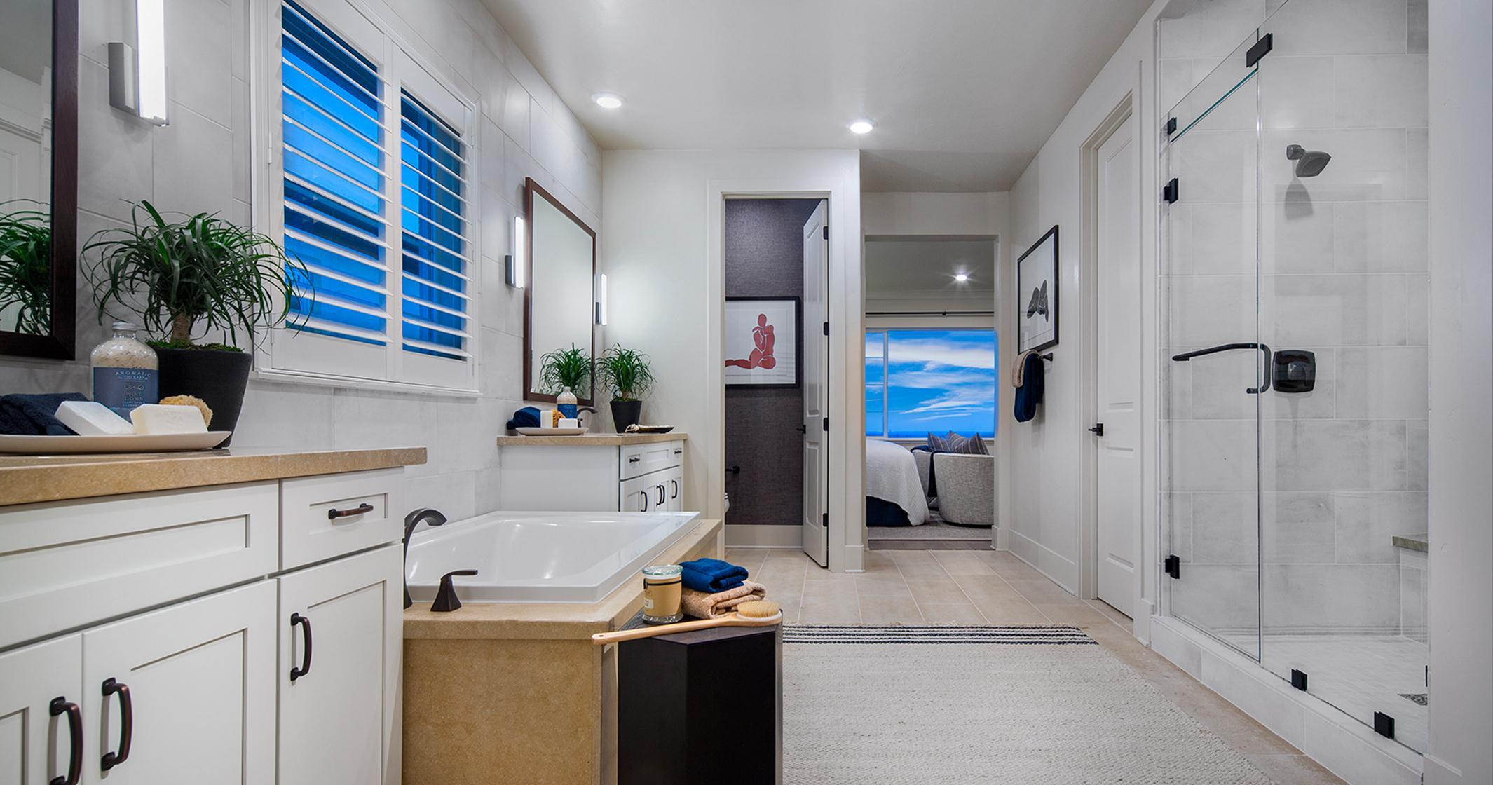 Bathroom featured in the Plan 4 By The New Home Company in Sacramento, CA