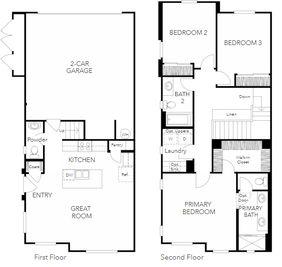 Plan 2BX - NUVO Artisan Square: Sacramento, California - The New Home Company
