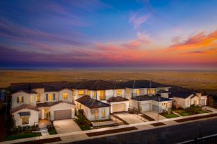 Plan 1 - Silver Crest at Russell Ranch: Folsom, California - The New Home Company