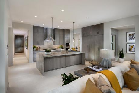 Kitchen-in-Icon Plan 1A-at-Icon-in-Scottsdale