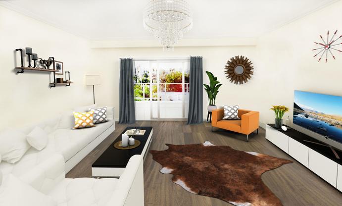 Long Beach Garden Home:Interior Image