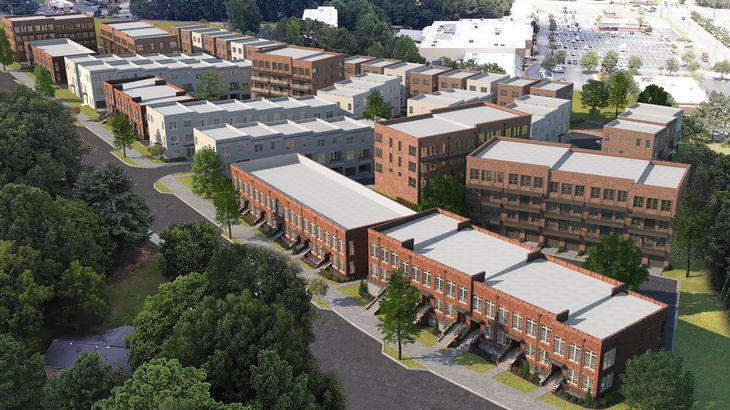 The Maxwell:The Maxwell in Alpharetta Community Rendering