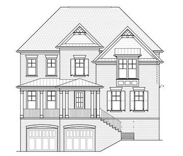 The Hawthorne:Elevation A