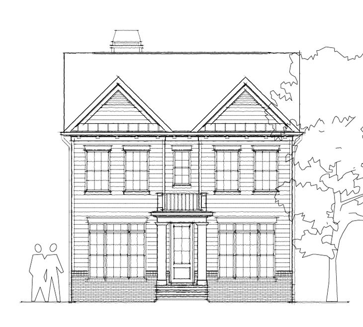 The Crestwick:Elevation A