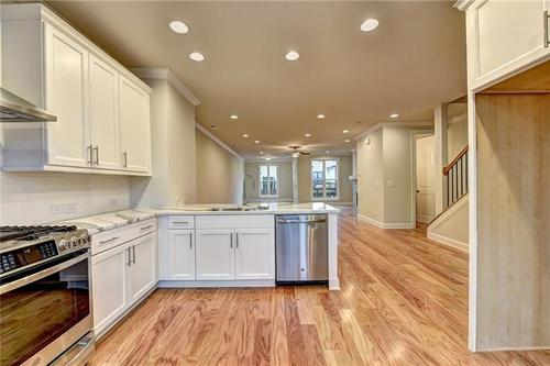 Kitchen-in-The Foxdale-at-Cresslyn-in-Johns Creek