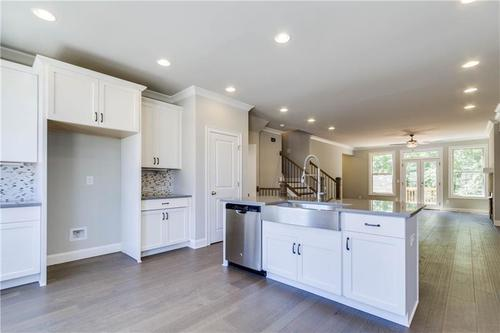 Kitchen-in-The Foster-at-Brookmere at Johns Creek-in-Johns Creek