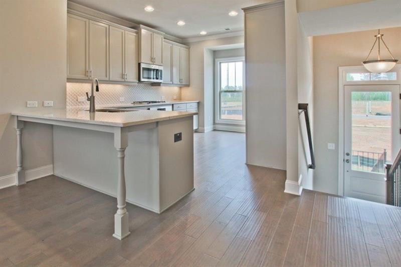 Kitchen-in-The Freemont-at-Brookmere at Johns Creek-in-Johns Creek