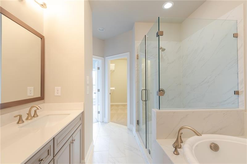 Bathroom-in-The Finley-at-Brookmere at Johns Creek-in-Johns Creek