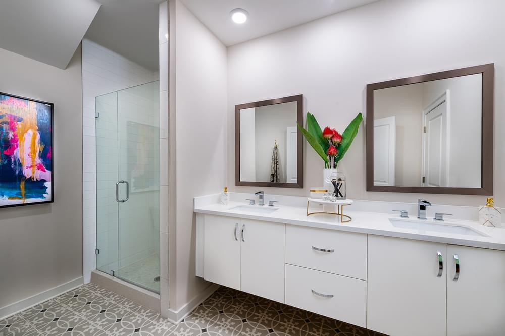 Bathroom featured in The Courtland By The Providence Group in Atlanta, GA