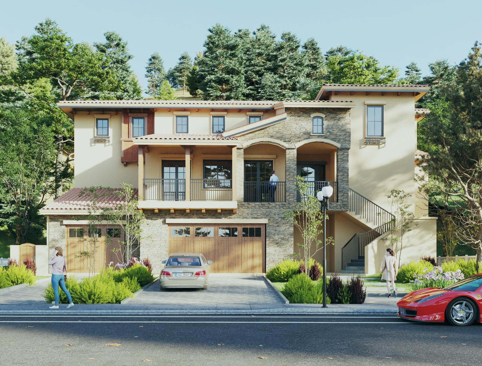 Exterior featured in the Plan 1 By Do & Partners in San Jose, CA