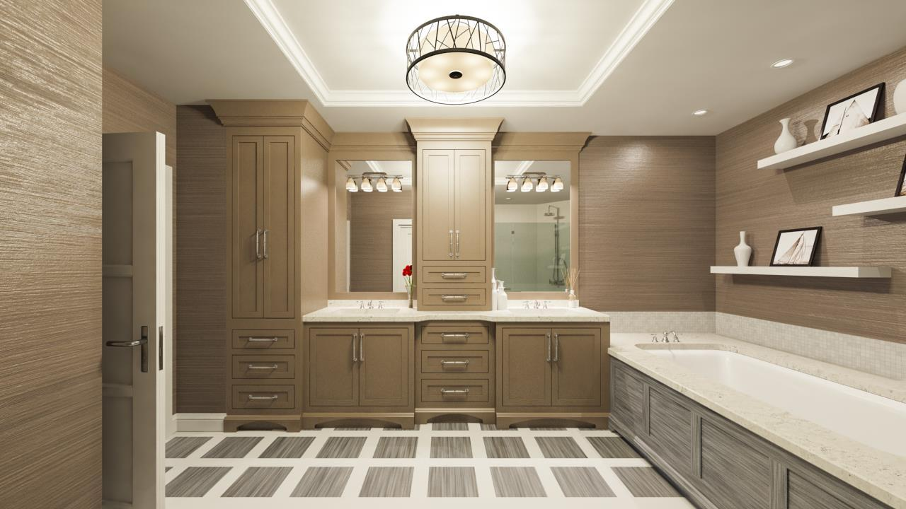 Bathroom featured in the Seaglass Residence 04 By The Ronto Group in Fort Myers, FL