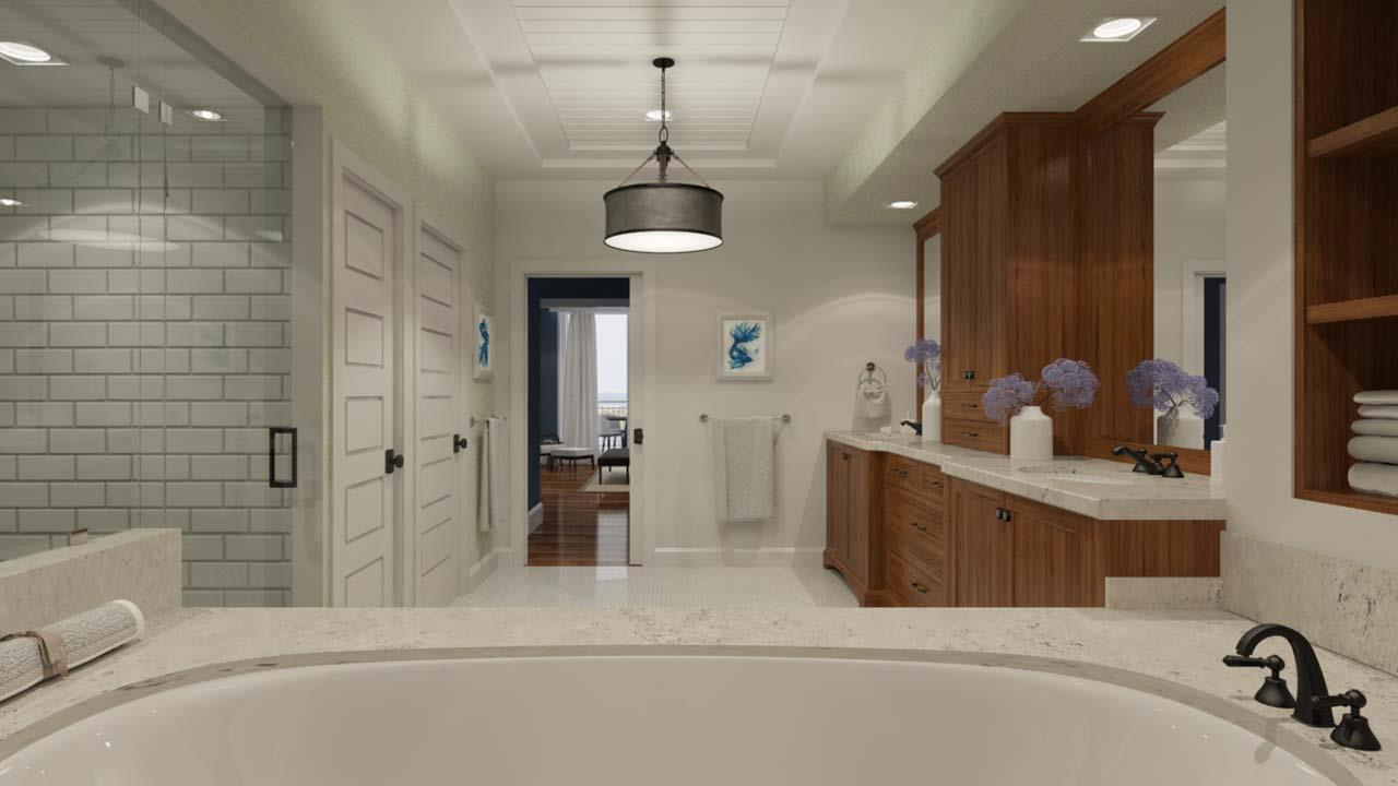 Bathroom featured in the Seaglass Residence 05 By The Ronto Group in Fort Myers, FL