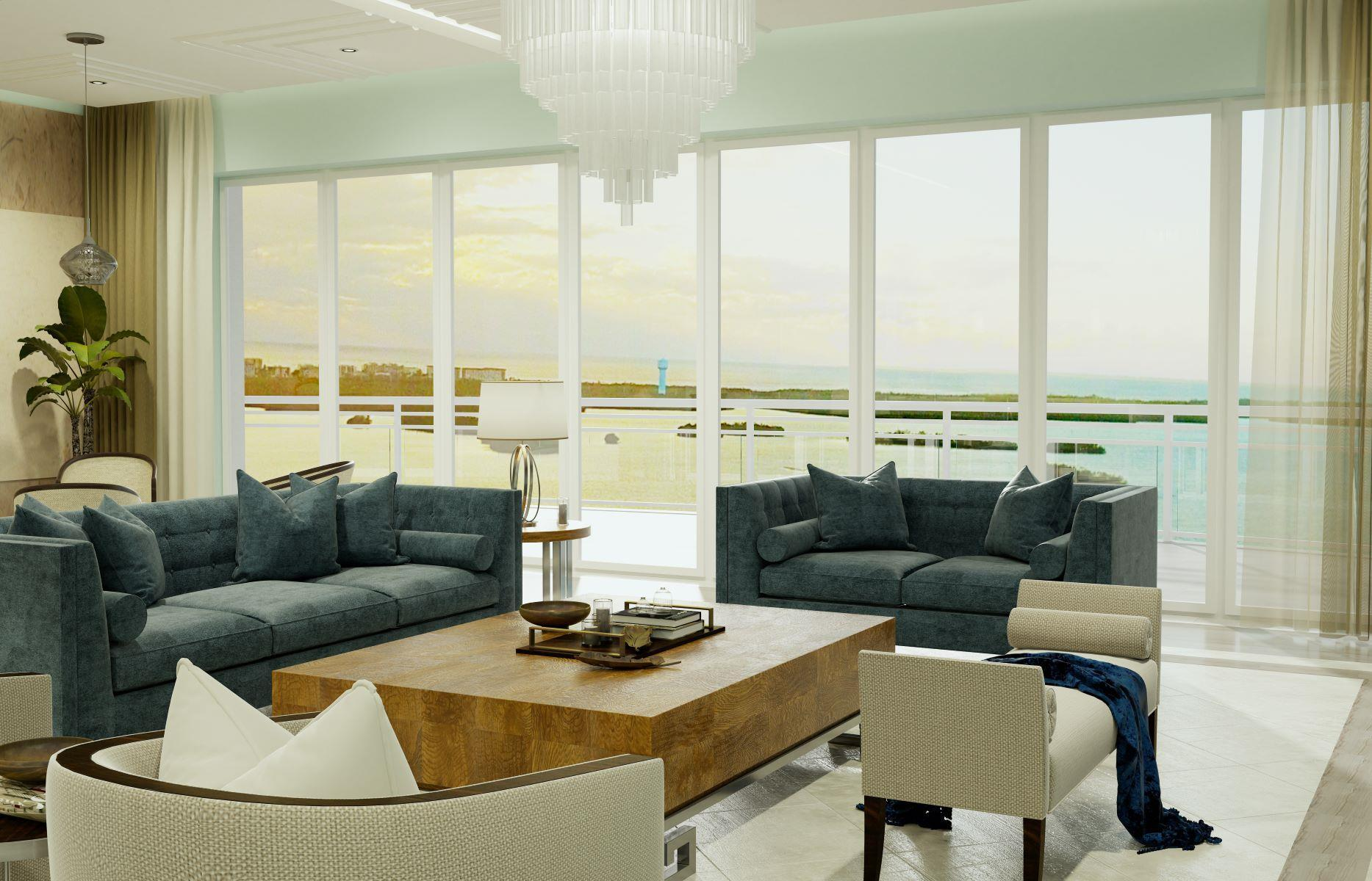 Living Area featured in the Omega Residence 02 By The Ronto Group in Fort Myers, FL