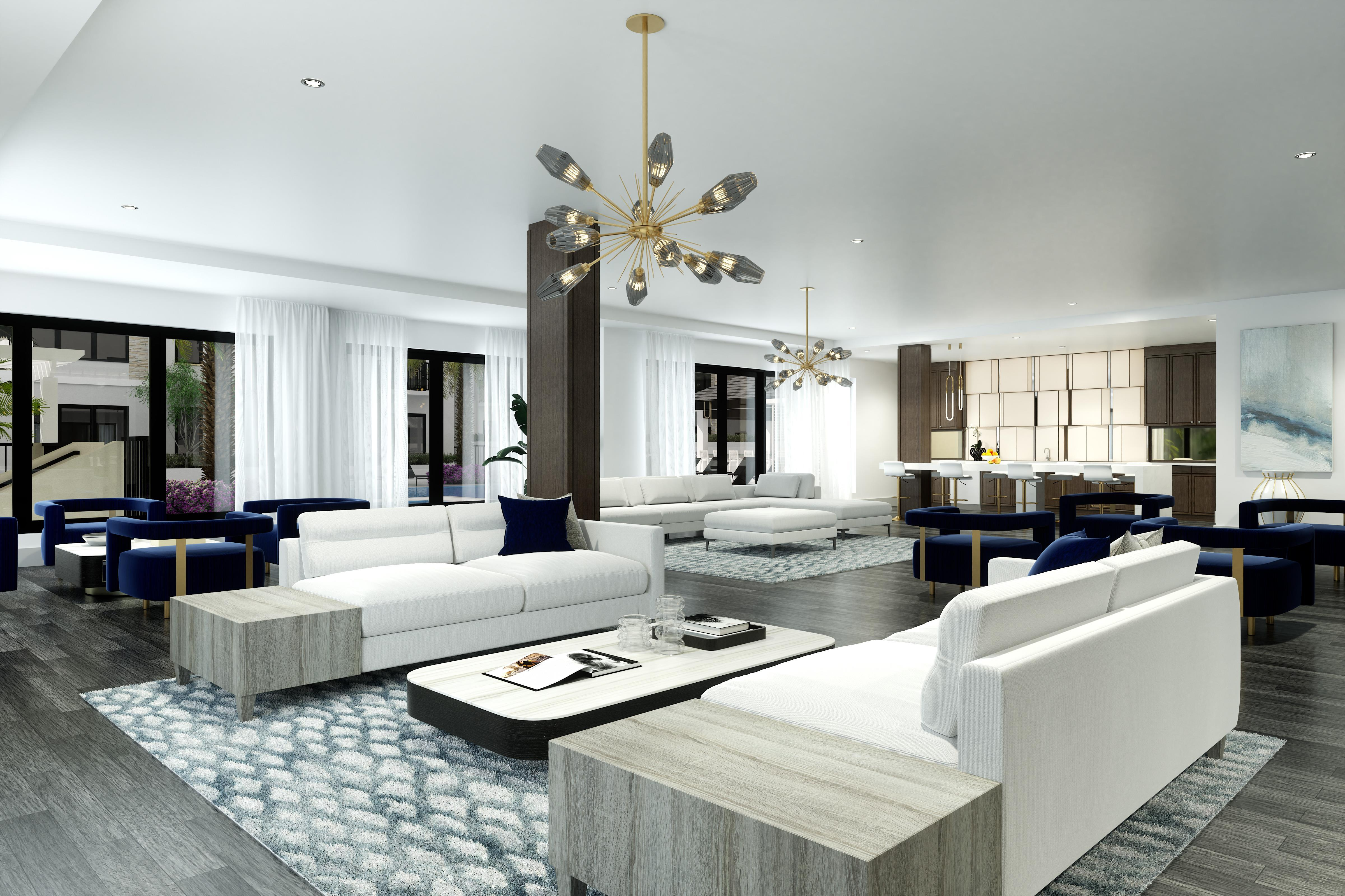 Living Area featured in the Dolce By The Ronto Group in Naples, FL