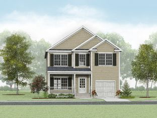 Magnolia - The Cottages at Norfolk Highlands: Chesapeake, Virginia - Wetherington Homes