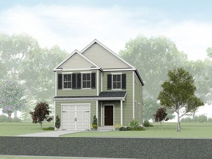 Exterior featured in the Cypress By Wetherington Homes in Norfolk-Newport News, VA
