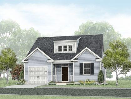 Exterior featured in the Cedar By Wetherington Homes in Norfolk-Newport News, VA