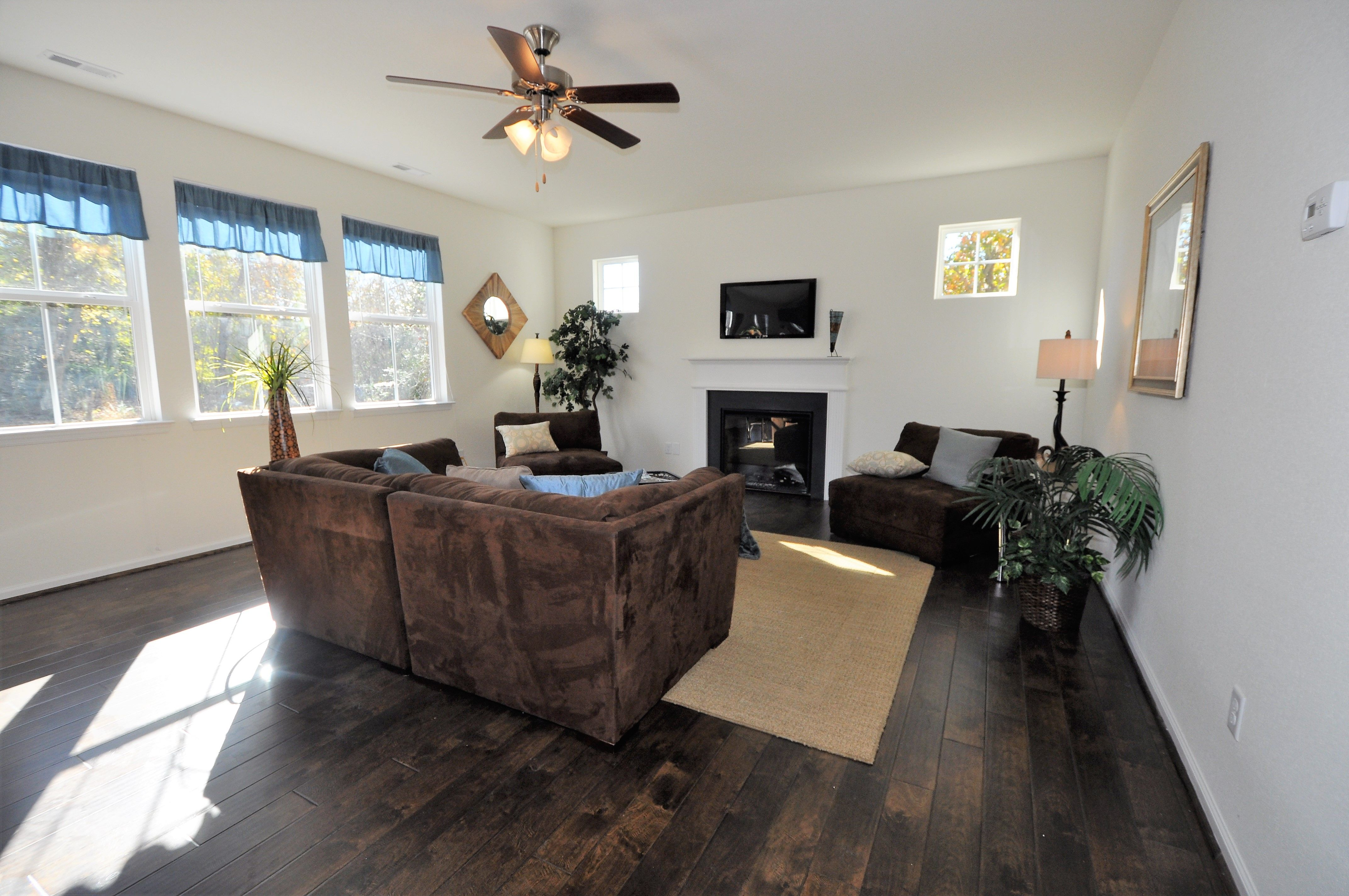 Living Area featured in the Cedar By Wetherington Homes in Norfolk-Newport News, VA