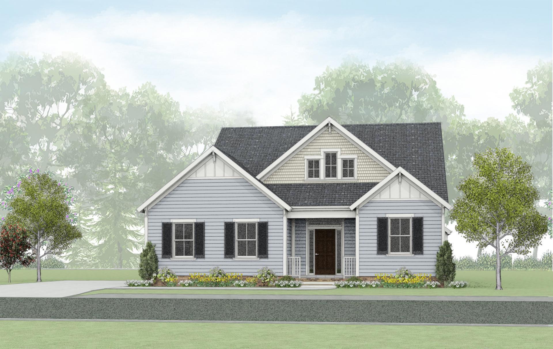 Exterior featured in the Cedar II By Wetherington Homes in Norfolk-Newport News, VA