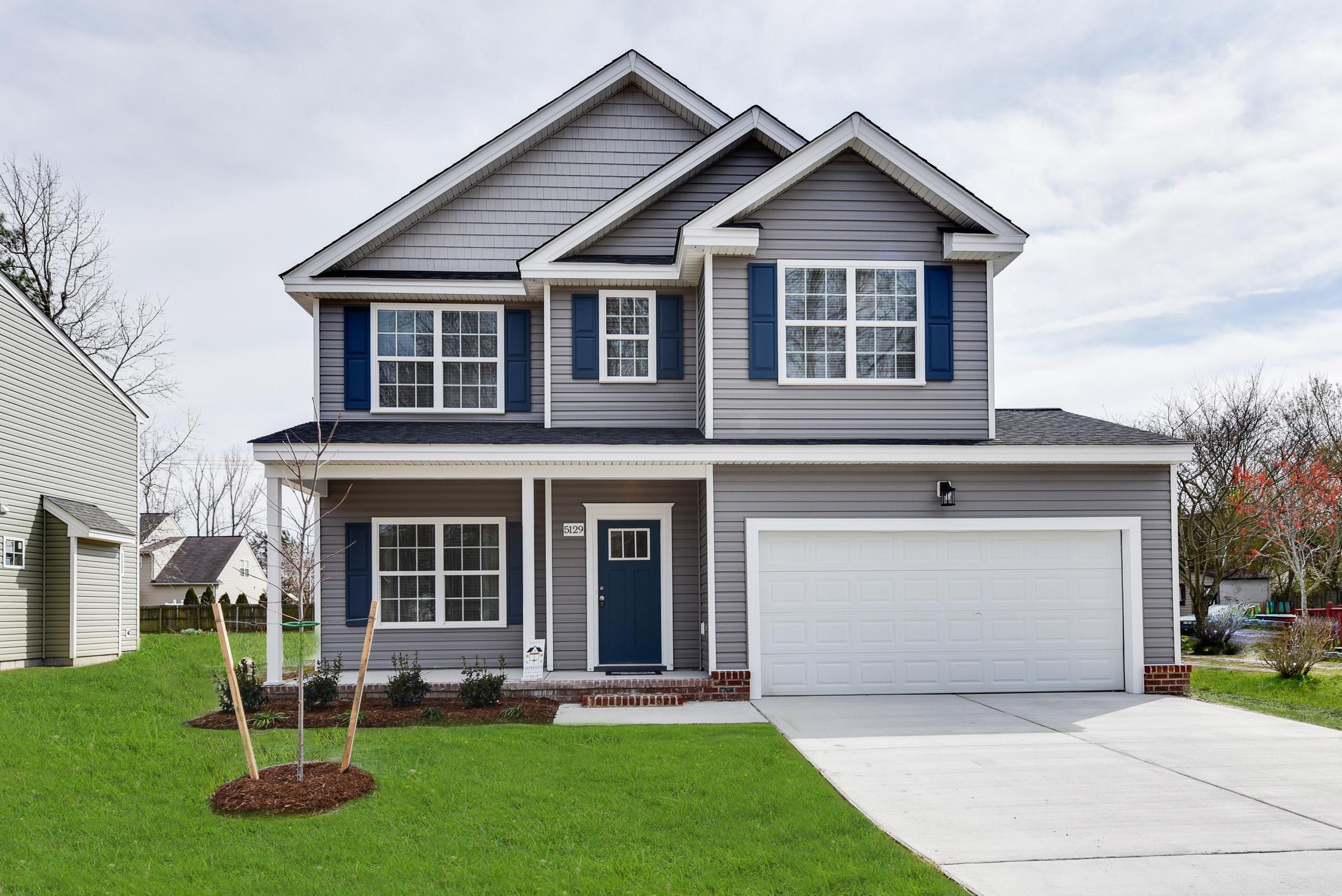 Exterior featured in the Magnolia II By Wetherington Homes in Norfolk-Newport News, VA