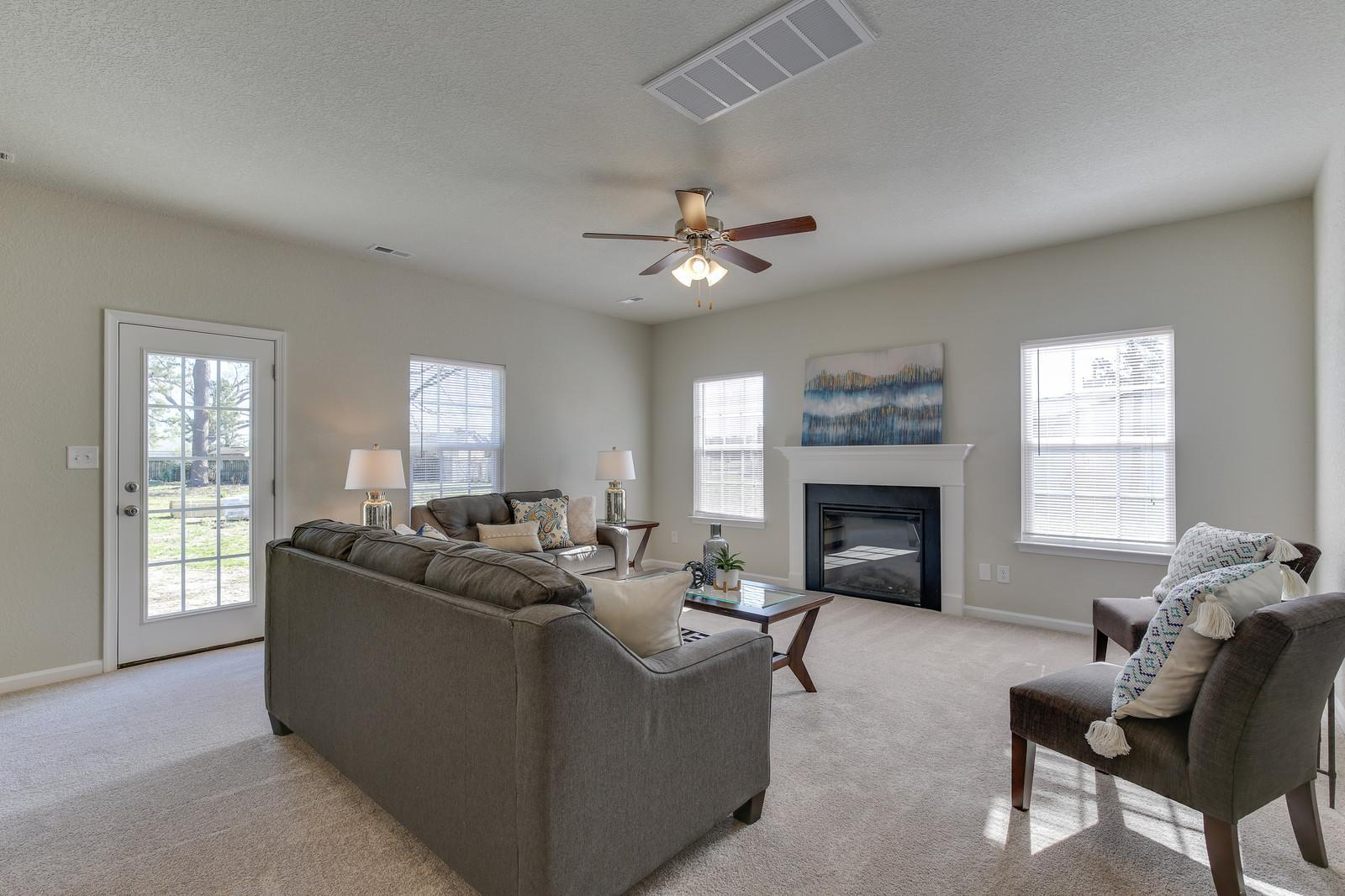 Living Area featured in the Magnolia II By Wetherington Homes in Norfolk-Newport News, VA