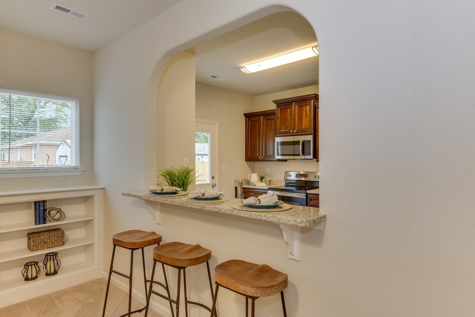 Kitchen featured in the Hickory By Wetherington Homes in Norfolk-Newport News, VA