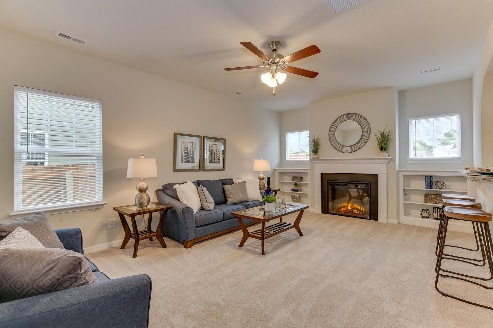 Living Area featured in the Hickory By Wetherington Homes in Norfolk-Newport News, VA